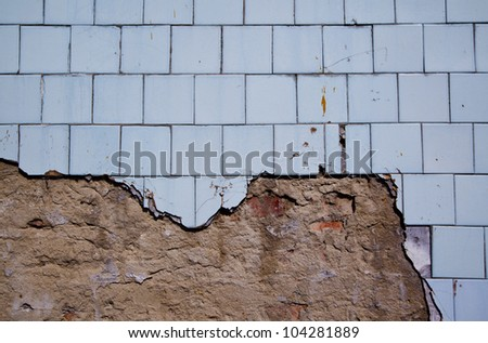 Wall tile sizes