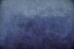 Texture of the painted wall blue maritime color with divorces