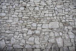 texture of the stone bridge