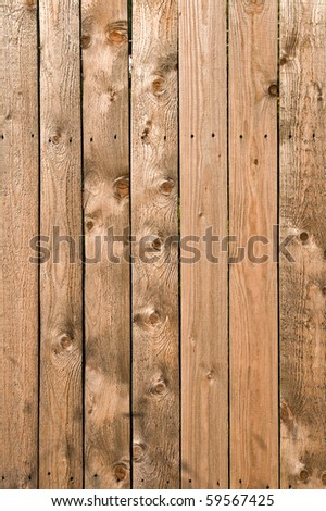 Texture of uncolored wooden lining boards