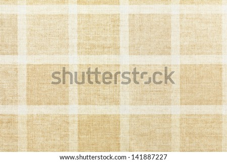 texture of vintage checkered tablecloth
