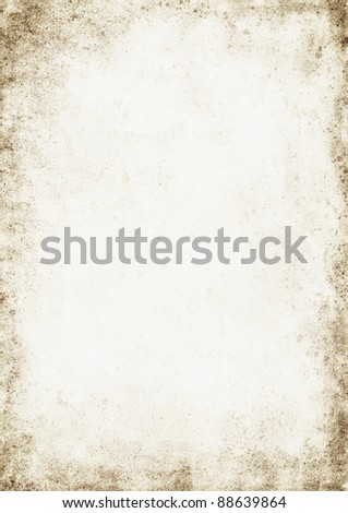 Texture of vintage paper. Background for design