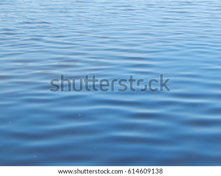 Texture of water in a river