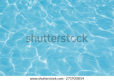 texture of water in the swimming pool #271920854