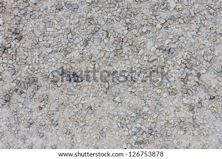 texture of wet gravel road background