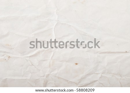 texture of white crumpled paper, used for background