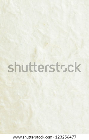 texture of white  japanese paper - stock photo