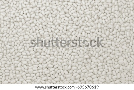 Texture of white sweets .3d render Foto stock ©