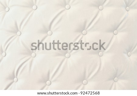 Texture of white vintage sofa