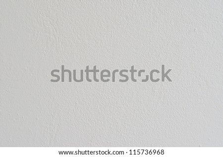 Texture of white wall, Thailand.