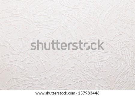 texture of white wallpaper #157983446