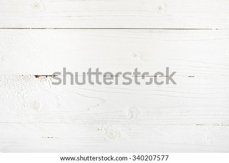 Texture Of White Wood Table Background 340207577