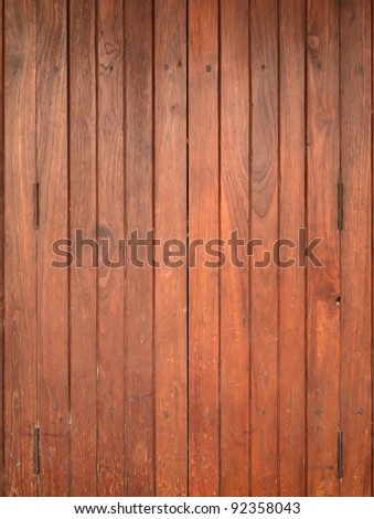 Texture of Wood panel for background vertical