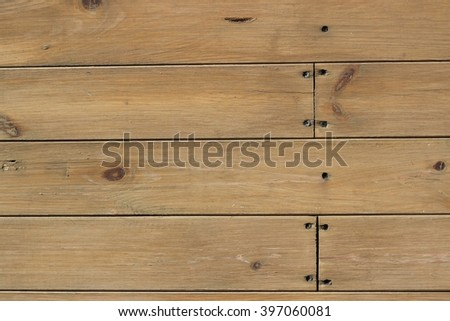Texture of wooden boards with nails - Shutterstock ID 397060081