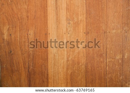 Texture of wooden wall