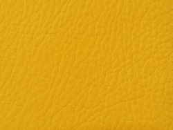 texture of yellow leather