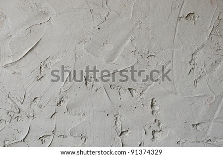 Texture on grey concrete wall as background