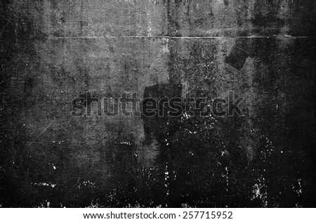 texture or background wall of shabby paint and plaster cracks #257715952