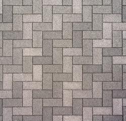 Texture: Pavement in Japan. Interlocking concrete pavers.