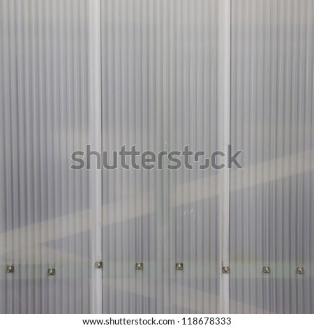 texture polycarbonate cells - stock photo