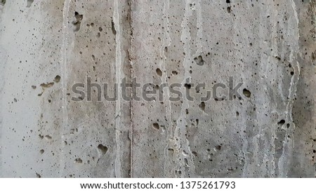 TEXTURE PROJECT:concrete wall in construction site #1375261793