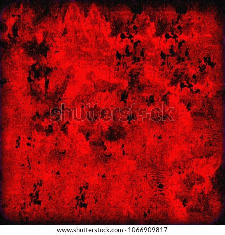 texture red grunge background