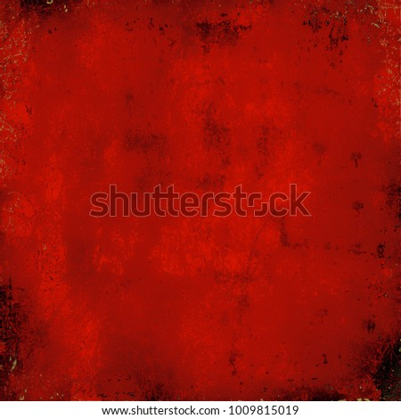 Texture red grunge style #1009815019