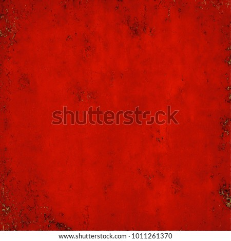 Texture red grunge style #1011261370