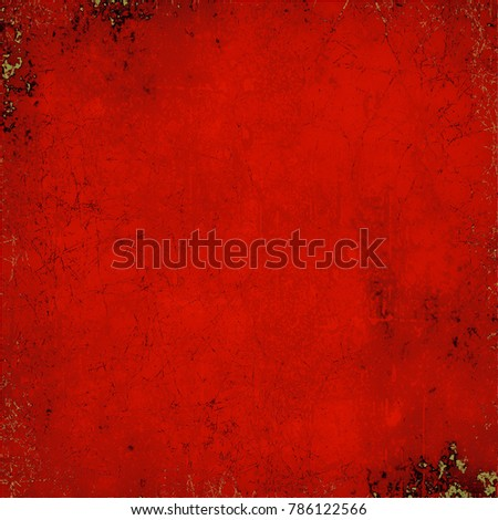 Texture red grunge style #786122566
