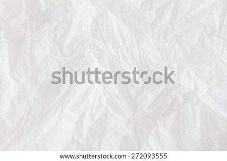 Texture stripes on tissues paper