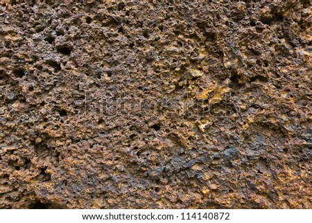 texture style on stone wall for background