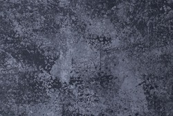 Texture, wall, concrete, it can be used as a background for photo. Grey wall fragment with scratches and cracks.