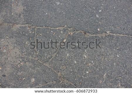 Texture wet asphalt #606872933