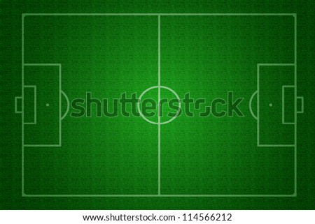Textured a football pitch (soccer pitch)