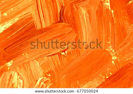 Textured abstract background orange colour.
