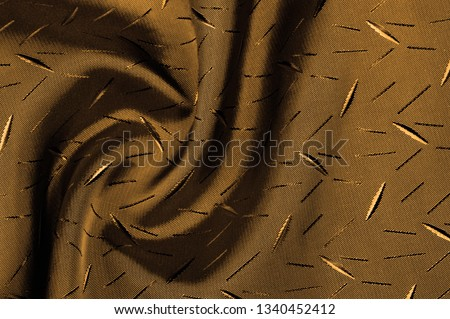 Textured, background, Drawing, yellow brown silk fabric. This silk fabric has design Perfect for accents on design, wallpaper and home decor. Colors include shades of brown. #1340452412