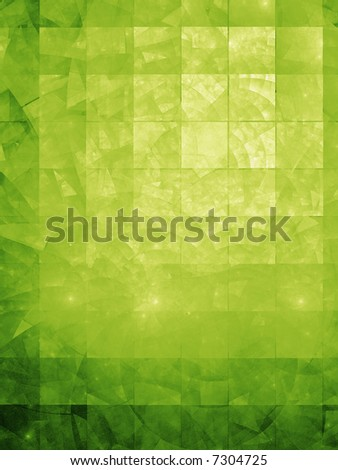 Textured background Illustration with hi detail - Green Textile