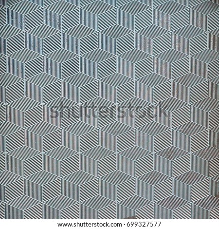 Textured background rhombus square rectangle flower asterisk #699327577