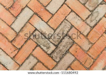 Textured blue wall with attrition - stock photo