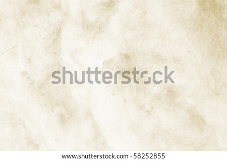 Textured clear beige background with space for text or image - scrap-booking