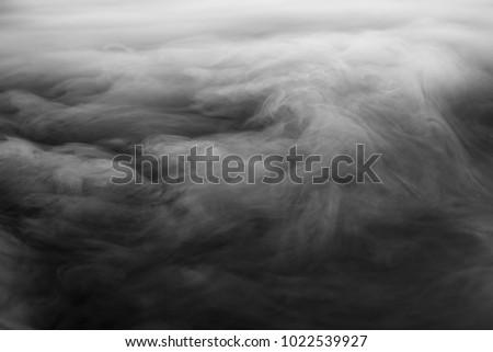 Textured Dry Ice Fog on Dark Backgorund