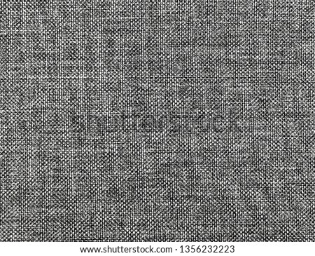 Textured fabric background  of gray fabric #1356232223