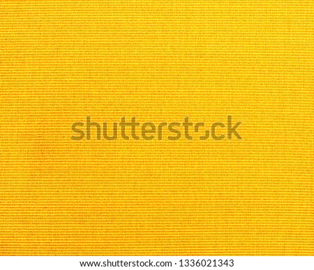 Textured fabric background  of  YELLOW  fabric, #1336021343