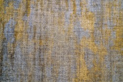 Textured Fabric Surface Background. Grunge Messy Rusty Old Cloth Background Texture.