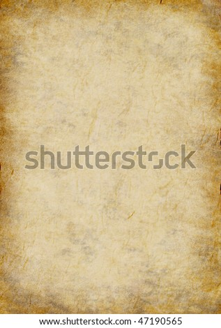 textured paper page old parchment background