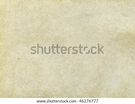 Textured recycled paper with natural fiber parts - Shutterstock ID 46276777