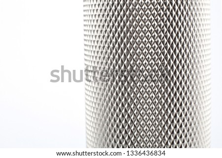textured silver metal. Stainless steel and aluminum light background. Aluminum pattern.
