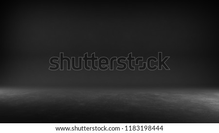 Textured studio background - Black