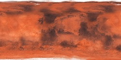 Textured surface of the planet Mars close-up.Texture or background