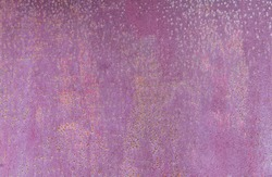 Textured weathered pale purple rusty aged metal background.